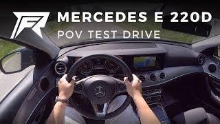 2018 Mercedes-Benz E 220 d - POV Test Drive (no talking, pure driving)