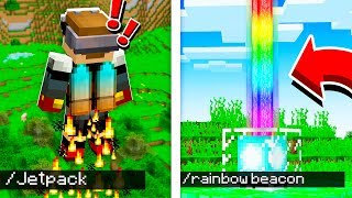Top 10 Commands that CHANGED Minecraft PE