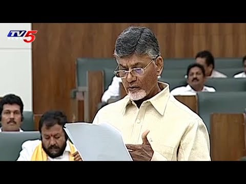 CM Chandrababu Speaks On AP Houses Construction in Assembly | TV5 News