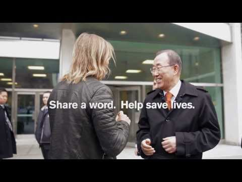 #TheWorldNeedsMore - David Guetta Visits UN Secretary-General Ban Ki-moon