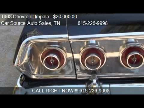 1963 chevrolet impala 2 door coupe for sale in nashville for Nashville motors dickerson pike