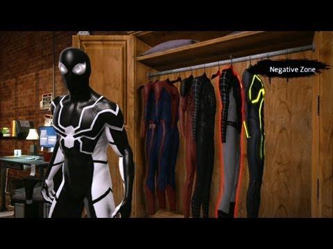 Onde estão e como pegar as roupas alternativas em The Amazing Spider-Man