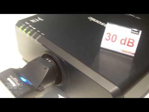 ISE 2015: Panasonic Exhibits the PT-DZ780 1-Chip DLP Projector