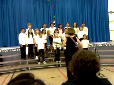 """Rockin' Robin"" - Ocean View School 4th Grade Choir"