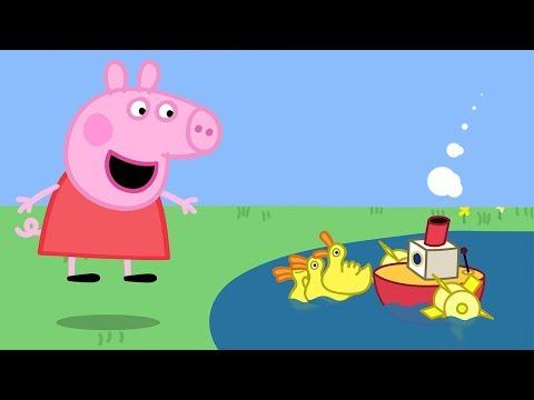 Свинка Пеппа на русском все серии подряд | Супер лодки! | Полные эпизоды