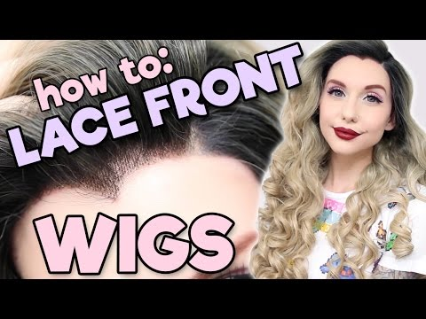 HOW TO: LACE FRONT WIGS | Alexa's Wig Series #6