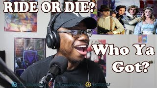 Romeo and Juliet vs Bonnie and Clyde - Epic Rap Battles of History REACTION!