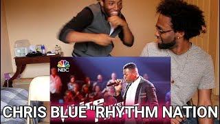 "Download Lagu The Voice 2017 Chris Blue - Finale: ""Rhythm Nation"" (REACTION) Gratis STAFABAND"