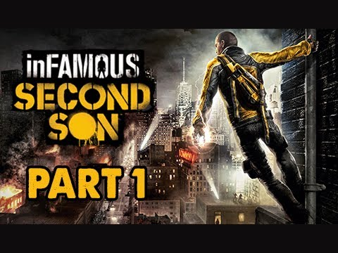 inFamous: Second Son Walkthrough Part 1 - Cole's Legacy DLC  (PS4 1080p Commentary)