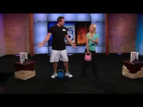 KTLA - Doug Reinhardt Shows His New Workout System - RKS