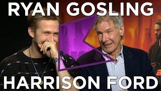 Ryan Gosling and Harrison Ford talk Blade Runner 2049