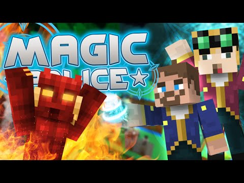 Minecraft Magic Police #83 - Satan's Gone (yogscast Complete Mod Pack) video