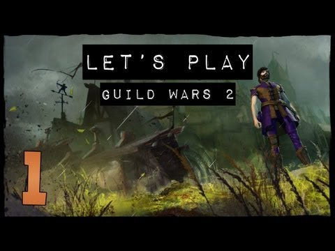 Let's Play Guild Wars 2 - EP1, In the First Game