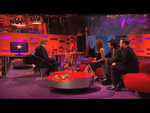 Jennifer Aniston Presents Olly Murs 'Rear Of The Year' Award - The Graham Norton Show
