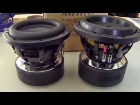Sundown Audio Zv4 8 ▶ Sundown Audio X-8 Versus