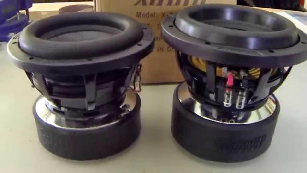 Sundown Audio Zv4 8 Sundown Audio X-8 Versus