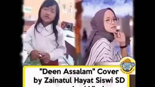 Deen Assalam cover Zainatul Hayat siswi SD yang lagi viralll|