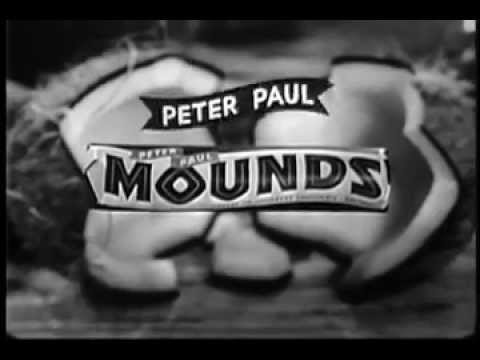 VINTAGE 1961 MOUNDS CANDY BAR COMMERCIAL