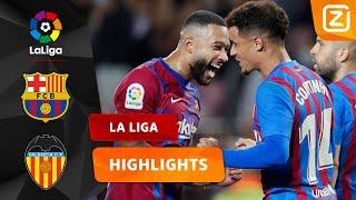 MEMPHIS NEEMT BARCELONA BIJ DE HAND! 💪🏼🇳🇱 | Barcelona vs Valencia | La Liga 2021