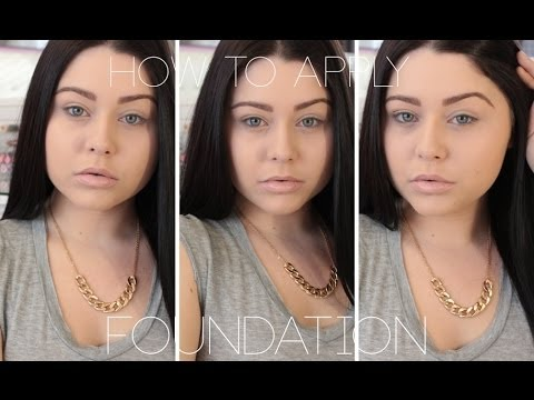How to Apply Foundation - Beginners 101 - Easy Step by Step ♡