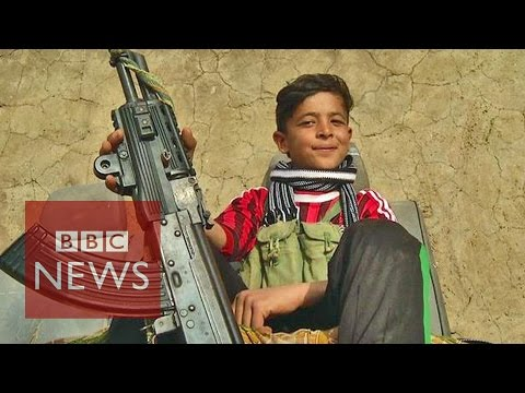 Islamic State 'are All Monsters' Says 14 Year Old Yazidi Boy video