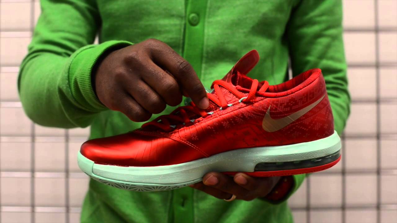 Kd 5 Christmas On Feet Nike Kevin Durant KD V...
