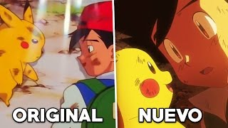 Pokémon LA PELÍCULA 2017 COMPARATIVA con la SERIE ORIGINAL (Pokémon I choose You)