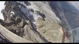 Wingsuit basejump from Aiguille du Midi - Jokke Sommer