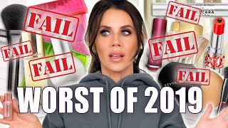 The VERY WORST MAKEUP of 2019