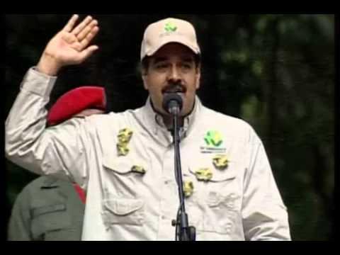 Maduro vuelve a equivocarse a nivel geográfico