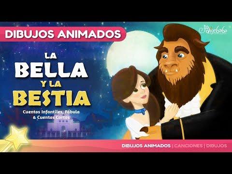 La Bella y la Bestia cuento para niños   Cuentos Infantiles en Español