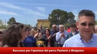 Inaugurato Parco Pantarei a Bisignano