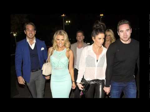 Katie Price and Kieran Hayler TOWIE's Danielle Armstrong and James Lock in Essex