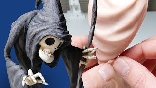 Sculpting the GRIM REAPER from Polymer Clay - Creating Your Requests E01!