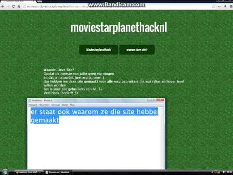Moviestarplanet Hack NL/Dutch WERKT 100%! (GEEN SURVEY + GRATIS!)