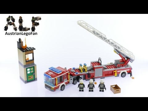 Lego City 60112 Fire Engine - Lego Speed Build Review