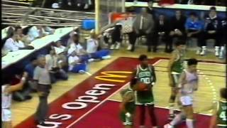 Baloncesto:Boston Celtics VS Real Madrid (TVE, 1988) 1/3
