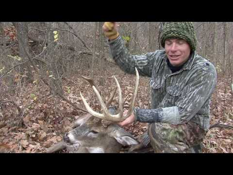 TBR Outdoors - Kansas Whitetail Deer Hunt - Recurve Bow Kill Video