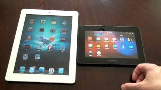 iPad 2 vs. BlackBerry Playbook