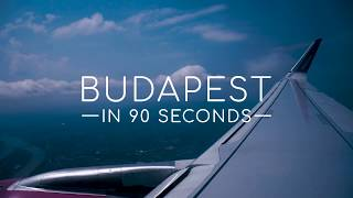 Budapest in 90 seconds | Travel Vlog | Emily Jones