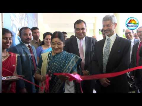 Sushma returned India without visiting Jaffna