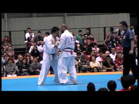 2013 All Japan Kyokushin Karate Final IKO1 Alejandro Navarro vs Kyohei Ajima Image 1