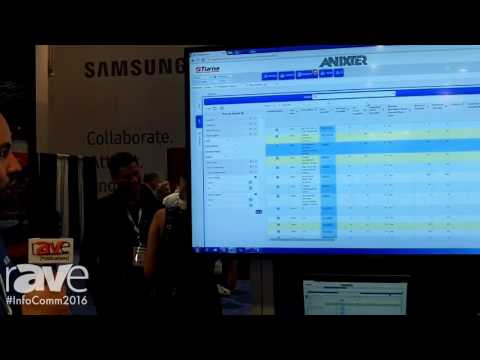 InfoComm 2016: Anixter Launches Sapphire Software