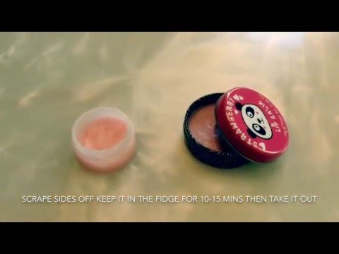 How To Make a Lip Balm Without Vaseline