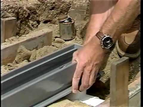 How To Install A Channel Drain For The Diy Project Yard