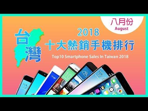 2018年8月台灣十大熱銷手機排行榜!APPLE iPhone 6S PLUS竟然入榜