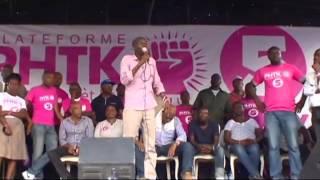 VIDEO Haiti Elections - Jovenel Moise di Devlopman se nan nou pou li soti...
