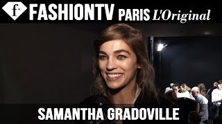 Samantha Gradoville: My Life Story | Model Talk | FashionTV