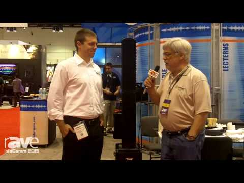 InfoComm 2015: Joel Rollins Talks With Alex Jacobs, VP of Sales for Anchor Audio