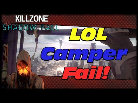 Killzone Shadow Fall LOL Nano Shield Camper Fail! Upcoming PS4 Reviews & Comparison Uploads!